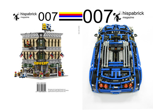LEGO Hispabrick Magazine 007 cover