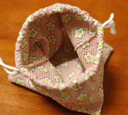 mairuru: How to make an Origami drawstring bag