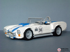 Shelby Cobra (Biczzz) Tags: car team model cobra lego shelby v8 lugnuts comunidade 0937 biczzz comunidade0937