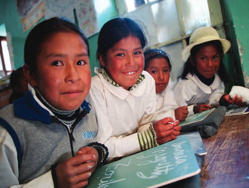 Bolivian Students photo