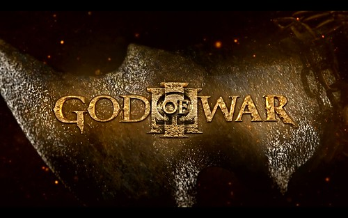 wallpaper god of war 3. God Of War 3 Logo Wallpaper
