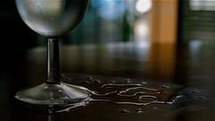 h2o (carlosrubi) Tags: water mexico wine bokeh yucatan h2o merida copa spilled vino