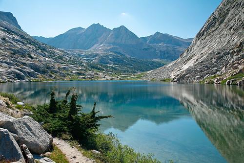 Palisades Trail wa Palisades Lakes Trail