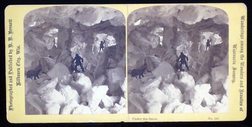 Under the Snow. H. H. Bennett, Wisc. 1883