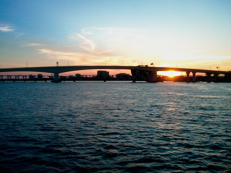 Day 147- Sunset Under Bridge