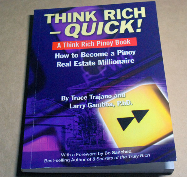 book review on think rich pinoy