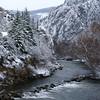 Treska River (kosova cajun) Tags: winter snow landscape hiking macedonia balkans makedonija dimër peisazh southeasterneurope maqedonia borë matkacanyon treskariver grykaematkës lumitreska