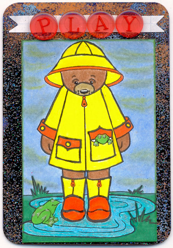 Rainy Day Play atc