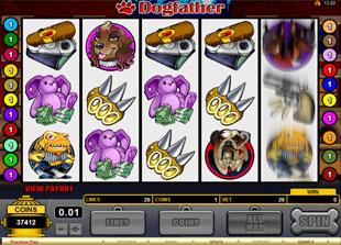 Dogfather slot game online review