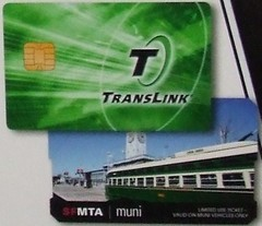 Zoomed and Cropped TransLink card