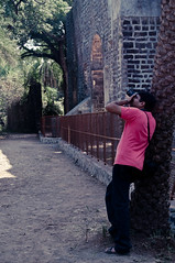 Buddy Photographers #3 ... Abhishek (Dev Designs) Tags: india trek candid adventure mumbai mws photgraphers vasaifort