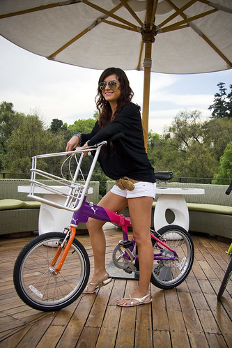 Cycle Chic Rooftop Shoot