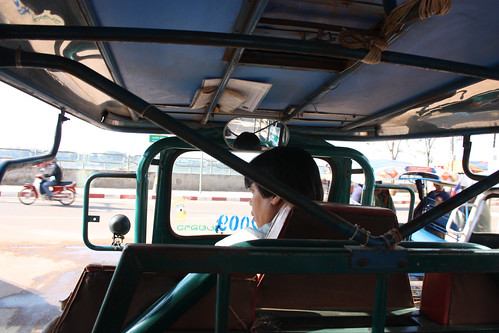 Tuk Tuk to the bus station