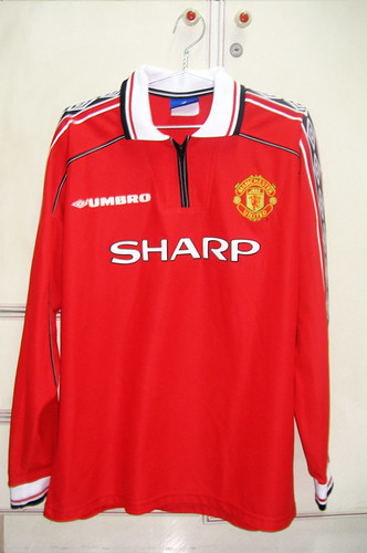 Manchester United 1998-2000 Home L/S