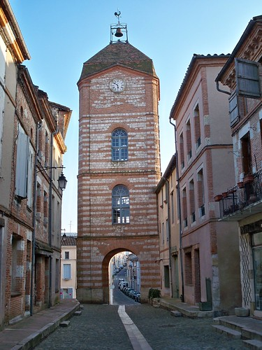 Clock tower Auvillar