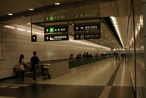 Hong Kong Station in Central and Western District,Hong Kong /Mar 13,2010
