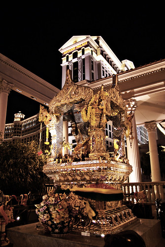 Brahma Shrine at Caesar's Palace.