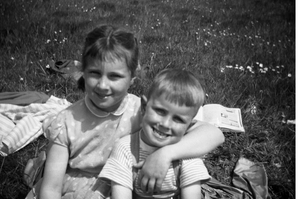 Marilyn & Ian Ross 1950s