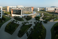 Infosys Mahindra City (seeveeaar) Tags: city india buildings it infrastructure chennai infosys tamilnadu mahindra mcity