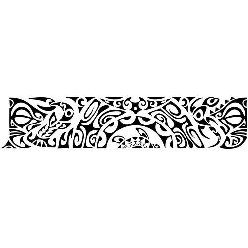 Bracelete Maori kirituhi Tattoo Polinesiaquer ver mais