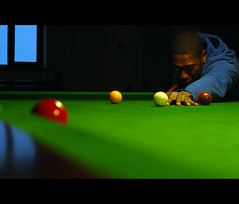 01 (Luke_Williams) Tags: blue red man green pool yellow table nikon williams shot bokeh g luke cottage balls player sharp pot points derby recent snooker d60