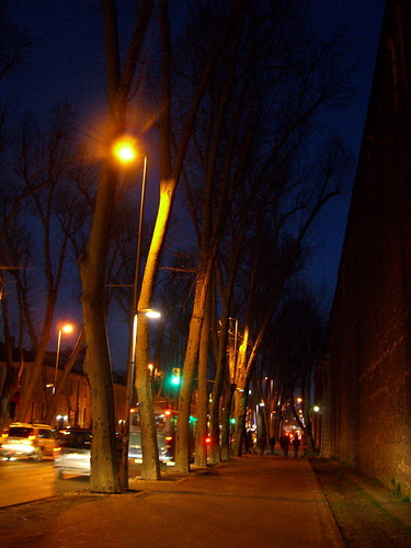 Walking to Beşiktaş