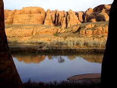 Colorado River View (t knouff) Tags: utah ut sandstone fuji canyonlands moab redrock slickrock petroglyphs behindtherocks coloradoplateau poisonspider poisonspidermesa potashroad