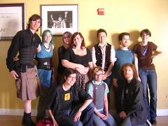 Opt-in group photo at the end of KinkForAll San Francisco