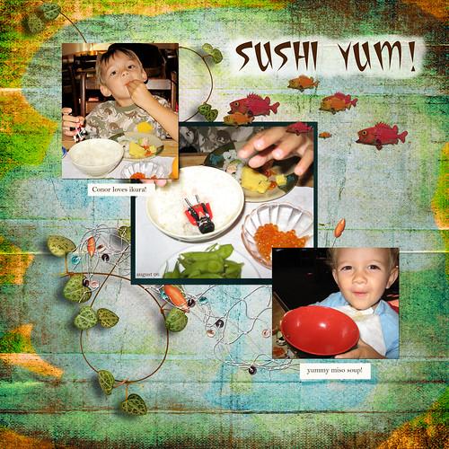 digiscrapping: sushi yum