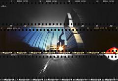 East sunset... (steven -l-l-l- monteau) Tags: camera city urban sculpture france film analog cub diy bordeaux terrasse battle compo pinhole explore homemade 70s 4x5 steven 135 battlefield maison ville immeuble argentique appareil urbain lll urbex pellicule gironde stnop 135film monteau meriadeck champdebataille faitmaison thebattlefield bordeauxcub battlemycompo 3x135