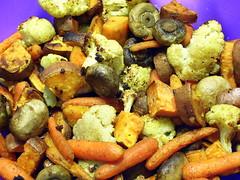 Vegetables: Post-Roast