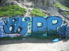 sifen dp (pinesol kush) Tags: sf beach graffiti dp hui sifen huik