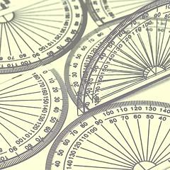 128 Angle Protractors
