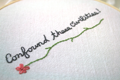Jane Eyre embroidery