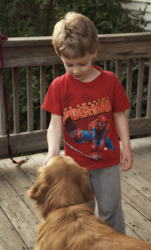 spiderman and charlie.
