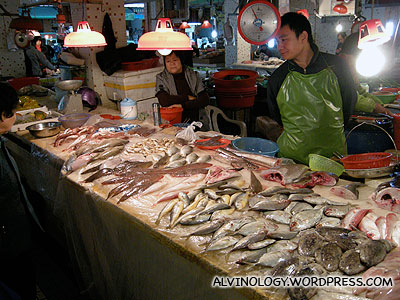 Another fish stall