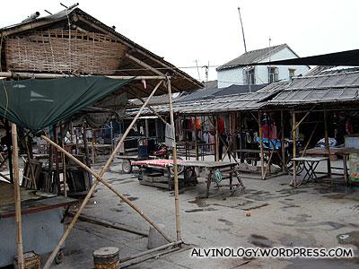 Inside the village