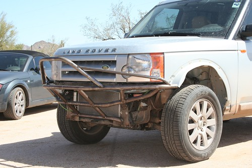 2006 LAND ROVER LR3 CUSTOM BUMPER