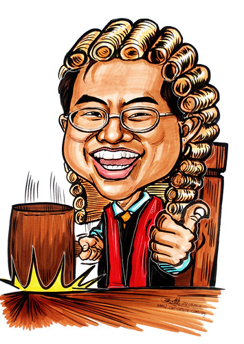 Caricature for Ministry of Manpower - 22