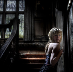 Twilight (andre govia.) Tags: hot building girl stairs buildings vampire decay goth oldhouse abandonedhouse left hot2 urbanexplorers andregovia