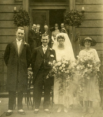 Mr and Mrs James McCallum July 1923