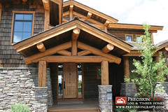 Post and Beam Log Home | Log Home Entrance | PrecisionCraft Log Homes (PrecisionCraft Log & Timber Homes) Tags: pictures homes usa house mountain home architecture america design log cabin exterior unitedstates post photos id picture plan beam idaho deck logcabin northamerica custom plans architects residential luxury cabins loghouse roanokevalley logcabins loghome homebuilding loghomes mountainhomes mountaindesign outddoor loghomeplans precisioncraft lognbsphome lognbsphomes loghomedesign loghomedesigns customloghomedesigns postandbeamhomes loghomefloorplans idahohomes custommountaindesign mountainarchitects