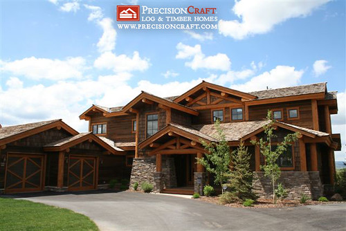 Stupendous Flickriver Precisioncraft Log Timber Homess Photos Download Free Architecture Designs Ferenbritishbridgeorg