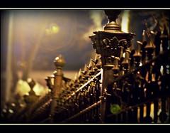 everything is blurry (ronjaa photography) Tags: night fence blurry nightshot nacht ardennes january zaun malmedy 2010 defuse verschwommen mygearandmepremium mygearandmebronze ronjaa