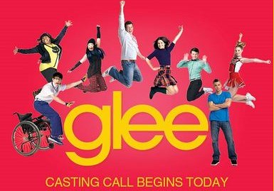 Glee casting call with same images, slightly rearranged