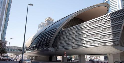 Dubai Metro Emirates Towers Station