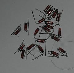 resistor 2k2 (hactux) Tags: vintage resistor 2k2 carboncomposit