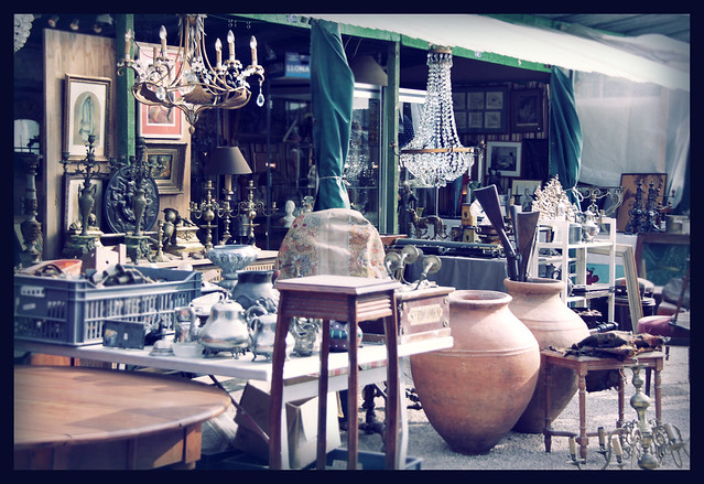 Ile de Chatou Antiques Fair