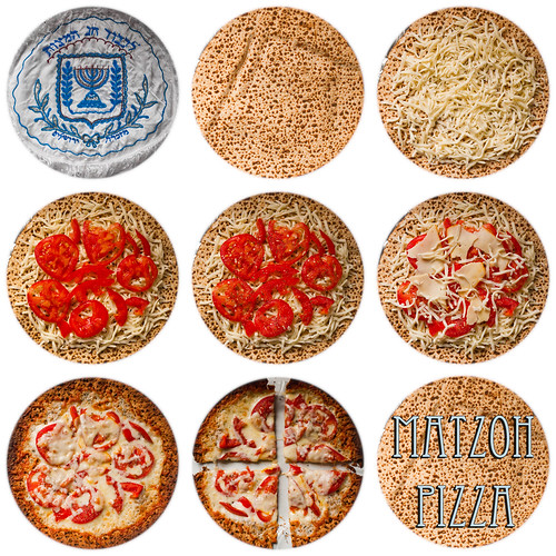 Matzoh Pizza!
