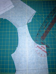 Jalie 2005 Maternity Alterations: Redrawing Back Neckline